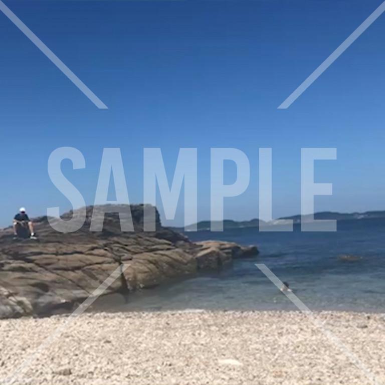 大連長海県の海と砂浜